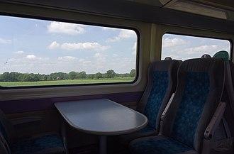 British Rail Class 175 - Image: Chelford MMB 01 Crewe to Manchester Line 175007