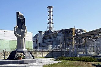 Comparison of Fukushima and Chernobyl nuclear accidents - Image: Chernobyl Nuclear Power Plant