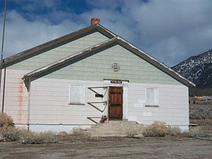 Cherry Creek, Nevada - The old meeting house