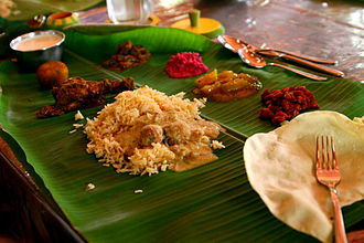 Sivaganga district - Chettinad cuisine