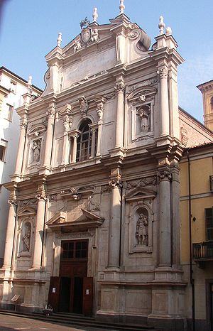 Basilica of Corpus Domini - Façade of the church.