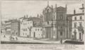 Chiesa di Santa Maria in Via Lata sula Via del Corso by Giovanni Battista Falda (1665).png