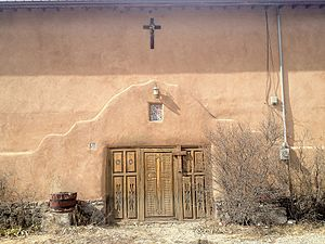 National Register of Historic Places listings in Rio Arriba County, New Mexico - Image: Chimayo Trading Post East Facade