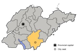 Lanshan District, Linyi District in Shandong, Peoples Republic of China