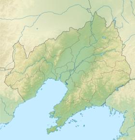 Isla Changxing ubicada en Liaoning