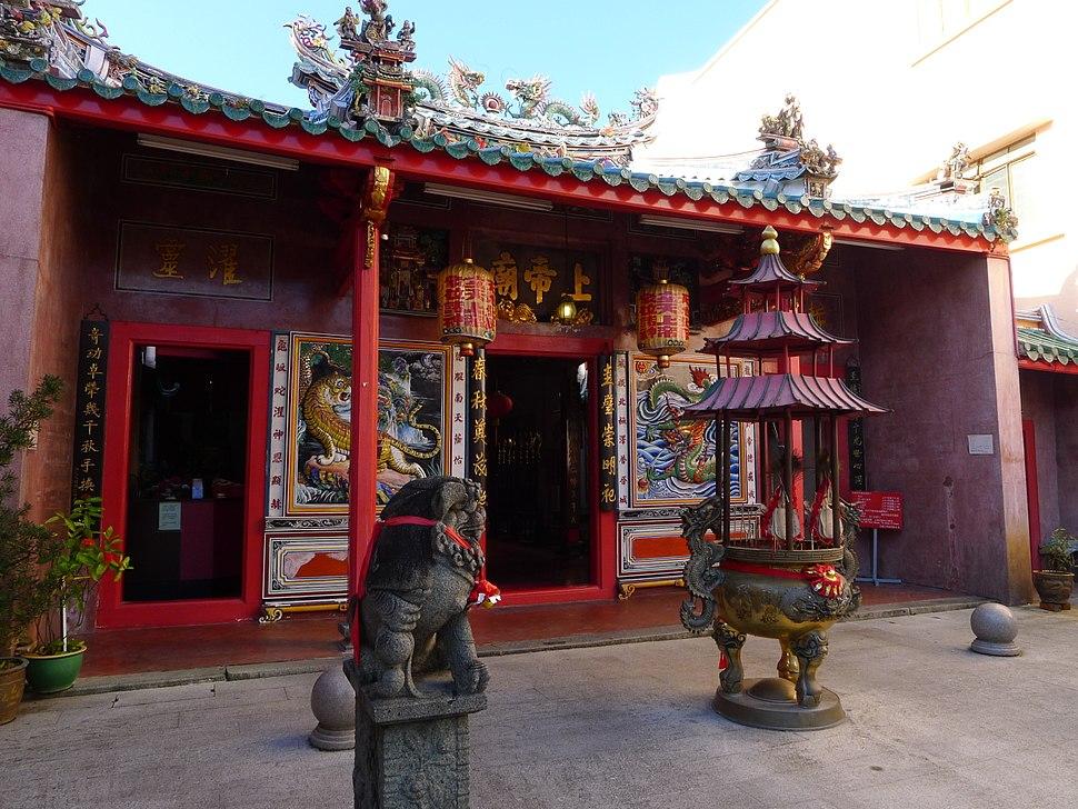 Chinese Temple on Carpenter Street, Kuching