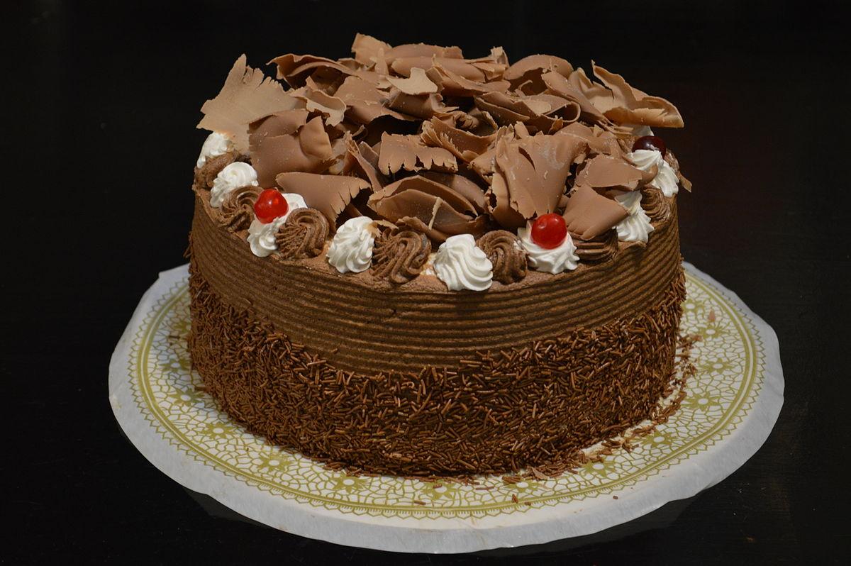 Chocoladetaart Wikiwoordenboek