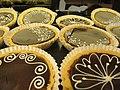 Chocolate tarts at Stuart's Baked Goods (9580027670).jpg