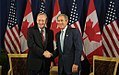 Chrétien and Bush shaking hands Sept 9 2002.jpg