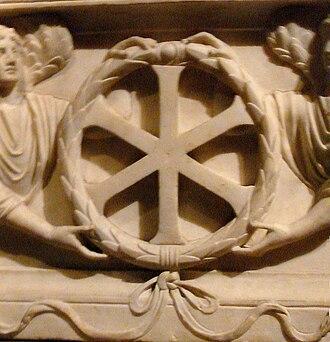 IX monogram - Image: Chrisme Constantinople