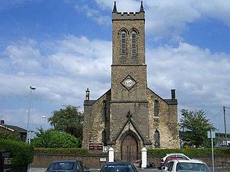 Cobridge - Image: Christ Church, Cobridge geograph.org.uk 209848