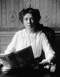 Christabel pankhurst 1912