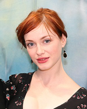 Drive (2011 film) - Image: Christina Hendricks @ BE booth