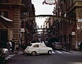 Christmas 1965 in Via Frattina, Rome.jpg