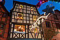 Christmas decoration in Riquewihr, Alsace (6710650687).jpg