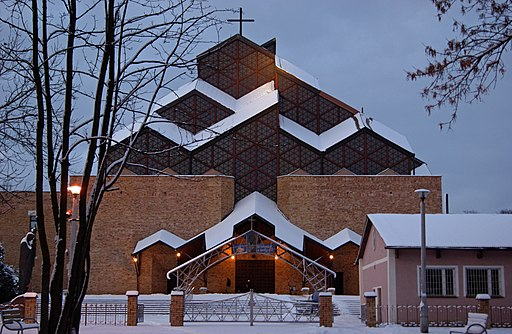 Church of Our Lady of Czestochowa, 7 os. Szklane Domy, Nowa Huta, Krakow, Poland