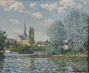 Church of Petit-Andelys (France, Normandy) by Maxime Maufra, 1902