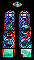 Church of St Mary the Virgin, Shipley, West Sussex, England ~ interior nave east stained window.JPG