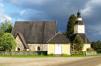 Tuulos - Image: Church of Tuulos