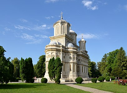 Church of the Dormition, Argeș monastery, Romania