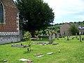Churchyard, St George's Church, Harnham - geograph.org.uk - 887043.jpg