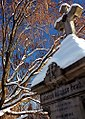 "Cincinnati - Spring Grove Cemetery & Arboretum ""Cross & Snow-Capped Branches"" (5388731803).jpg"