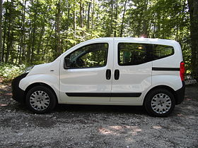 Image illustrative de l'article Citroën Nemo - Fiat Fiorino Qubo - Peugeot Bipper