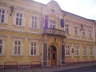 Brezno - Image: City centre brezno (8)