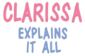Clarissa Explains It All Logo.png