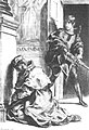 Claudius at Prayer Hamlet 3-3 Delacroix 1844.JPG