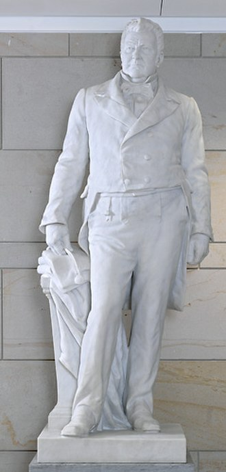 John M. Clayton (Baker) - The sculpture in the National Statuary Hall Collection