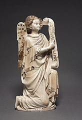 The Archangel Gabriel from an Annunciation Group
