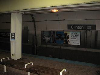 Clinton station (CTA Blue Line) - Image: Clinton CTA Blue Line Station