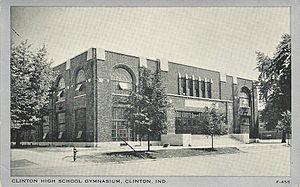 Clinton High School, Indiana - Gymnasium Built 1930