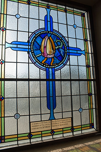 Edmond Francis Prendergast - Memorial window dedicated to Prendergast in St. Mary's Church in Clonmel