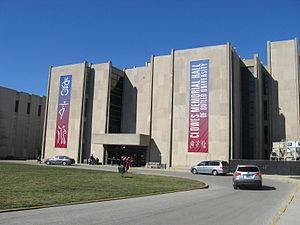 Clowes Memorial Hall - Clowes Memorial South Side