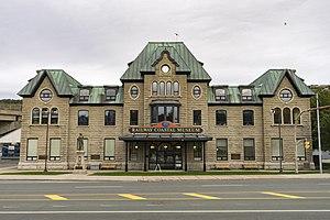 Newfoundland Railway - Newfoundland Railway Station, St. John's