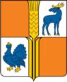 Coat of Arms of Isaklinsky rayon (Samara oblast).png