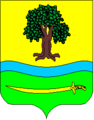 Coat of arms of Nikolske.png