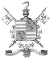 Coat of arms of Rev Sir Robert Peat.png
