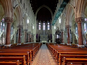 St Colman's Cathedral, Cobh - Image: Cobh Cathedral Internal 2012