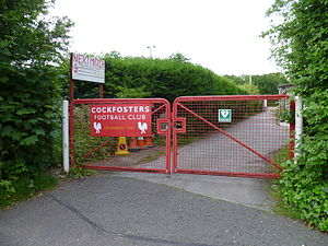 Cockfosters F.C. - Cockfosters Football Club gate