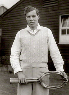 Colin Gregory British tennis player