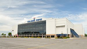 Colisée Pepsi - Image: Colisée Pepsi de Québec