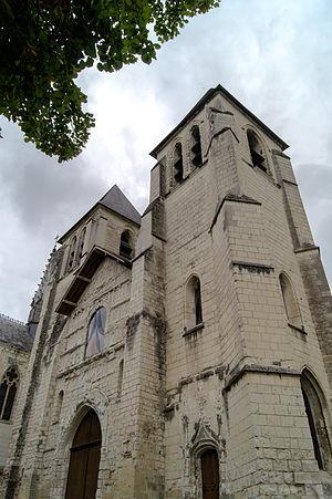 Chinon - Collégiale Saint-Mexme church