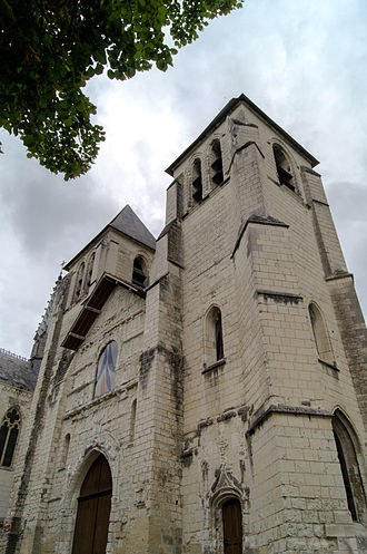 Chinon - Collégiale Saint-Mexme church