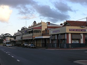 Collie, Western Australia - Image: Collie WA SMC main street 2
