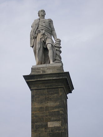 Cuthbert Collingwood, 1st Baron Collingwood - The Collingwood Monument at Tynemouth
