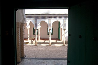 Abd-el-Tif prize - Colonnades of the villa Abd-el-Tif