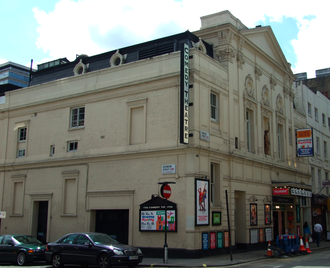 Harold Pinter Theatre - The theatre in 2007